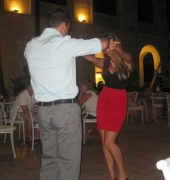 Dancing in Punta Cana!